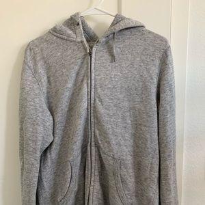 Uniqlo grey light weight sweater